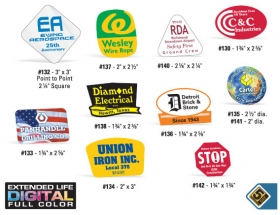 Promotional products: Hard hat decals
