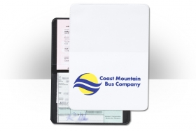 Promotional products: Three pocket license/liability card holder