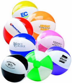 "Promotional products: 16"" two-tone beach ball"