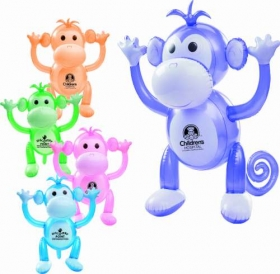 "Promotional products: 24"" inflatable monkey"