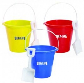 "Promotional products: 6"" pail and shovel"