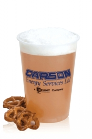 Promotional products: 16 oz frosted, soft sided - Frosted Plastic Cups