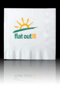 "Promotional products: 2 PLY COCKTAIL - 5"" x 5"" -  Napkins"