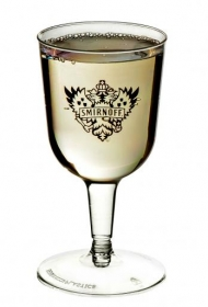 Promotional products: 2 piece 5.5oz Wine Goblet  - Plastic Stemware