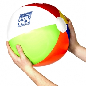 Promotional products: Multi-color beach ball