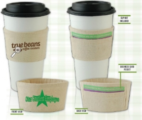 Promotional products: Cotton cup sleeve