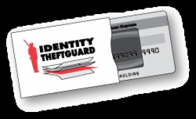 Promotional products: Rfid custom identity theftguard credit card sleeve