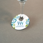 Promotional products: Single-sided Wine Glass Tags