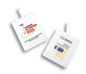 Promotional products: Golf bag tag