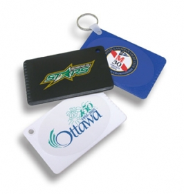 Promotional products: Deluxe credit card scraper