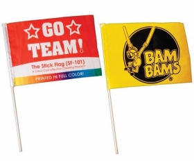 Promotional products: Stick flag
