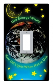 Promotional products: Light switch covers - glow in the dark