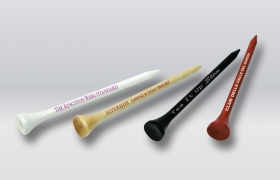 "Promotional products: 3 1/4"" Wooden Golf Tees"