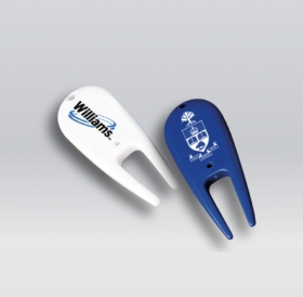 Promotional products: Plastic Divot Fixer Tool