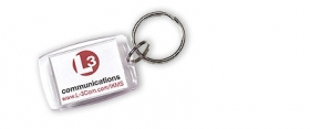 Promotional products: Key-ring With Insert Window