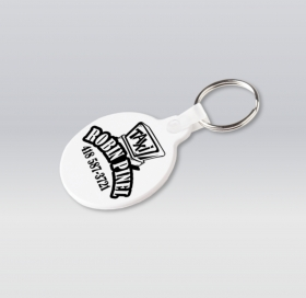 Promotional products: Round Flexible Key-rings