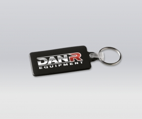 Promotional products: Thin Flexible Recabgle Key-rings