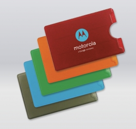 Promotional products: Translucent Card Holder, 1 Tab