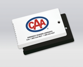 Promotional products: Business Card Size Ice Scraper