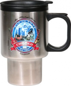 Promotional products: 16oz. Classic Travel - Stainless or Plastic Liner
