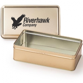 Promotional products: Rectangle tin (empty)