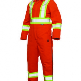 Promotional products: Lined 3-zip coverall