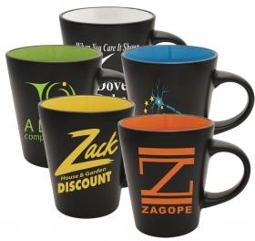 Promotional products: The Duo-Tone Blackout - Ceramic Mug
