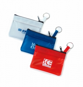 Promotional products: The companion - key & coin vinyl zipper pouch