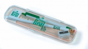 Promotional products: Klear-vu case - pen & pencil kit
