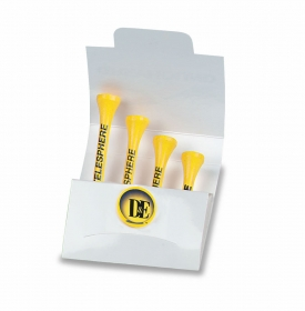 "Promotional products: Matchbook tee pak - 2 1/8"" tees"
