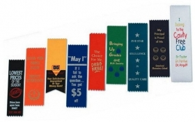 Promotional products: Custom ribbons
