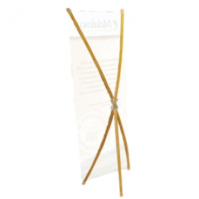 Promotional products: Bamboo x banner hardware only