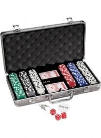 Promotional products: 300 pc Titanium Poker Set