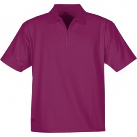 Promotional products: HOTLIST MEN'S OASIS STRETCH POLO