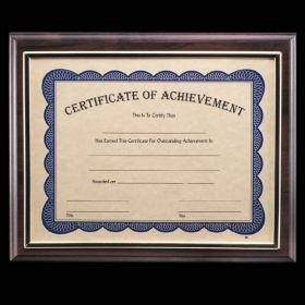 "Promotional products: Farnsworth Cert Holder - Cherry 8½""x11"""
