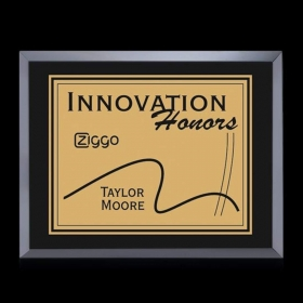 "Promotional products: Avonlea Plaque - Black 5""x7"""