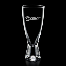 Promotional products: Bastien Beer Glass - 12oz Crystalline