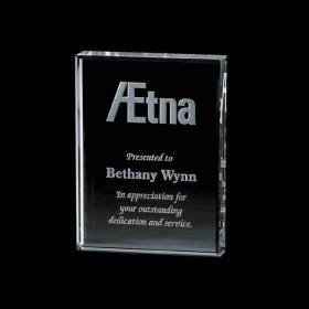 "Promotional products: Verona Paperweight - Jade 3""x4"""