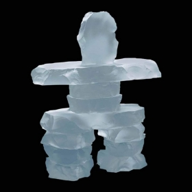 Promotional products: Inukshuk - Frosted 2½""