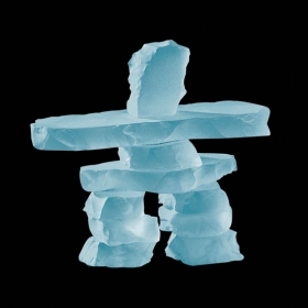 Promotional products: Inukshuk - Frosted 3½""