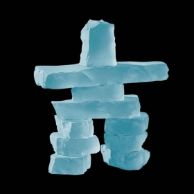 Promotional products: Inukshuk - Frosted 4½""