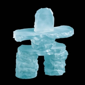 Promotional products: Inukshuk - Frosted 9""