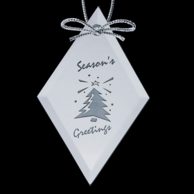 Promotional products: Mirror Ornament - Diamond