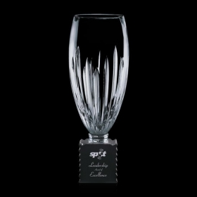 Promotional products: Albright Trophy - Crystal/Black 14¾""
