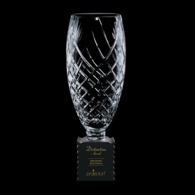 Promotional products: Benaglio Trophy - Crystal/Black 14¾""