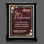 Promotional products: Farnsworth/Starburst Plaque - Black/Red 7