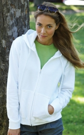 Promotional products: JUNIOR FIT FULL ZIP HOOD
