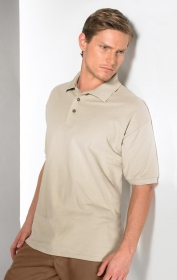 Promotional products: S/S COMBED RING SPUN PIQUÉ POLO
