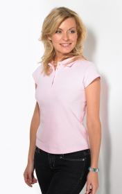 Promotional products: LADIES RING SPUN SPORT SHIRT S/S
