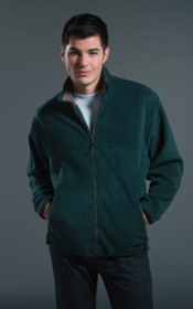 Promotional products: POLAR FLEECE FULL ZIP JACKET